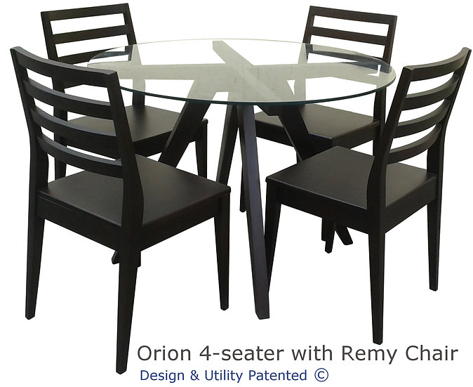 Orion Table and Remy Chairs