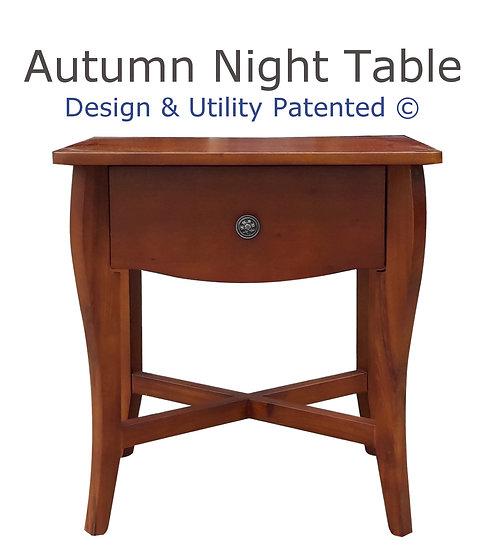 Autumn Night Table