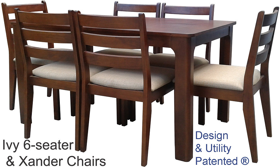 Ivy Table & Xander Chair
