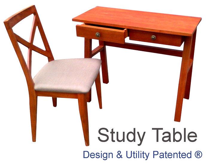 Armando Study Table with Chair