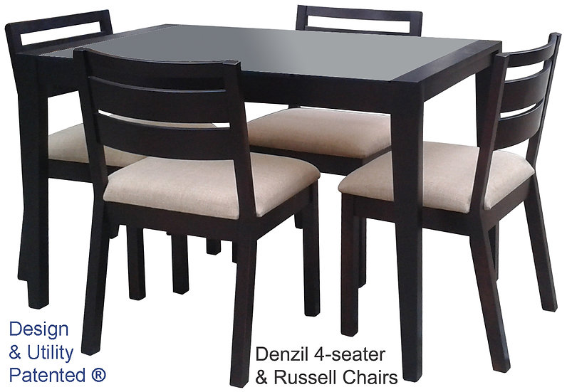 Denzil Table & Russell Chair