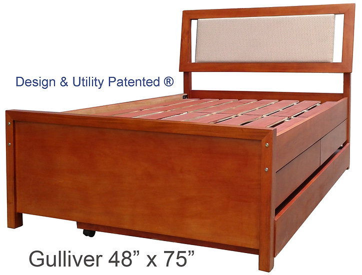Gulliver with Drawer and Pull-out 36""