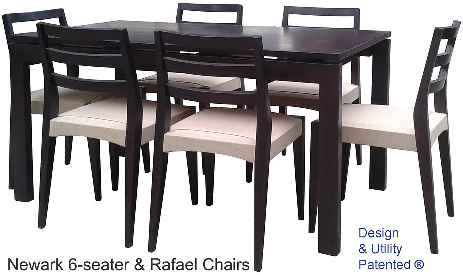 Newark Table and Rafael Chairs