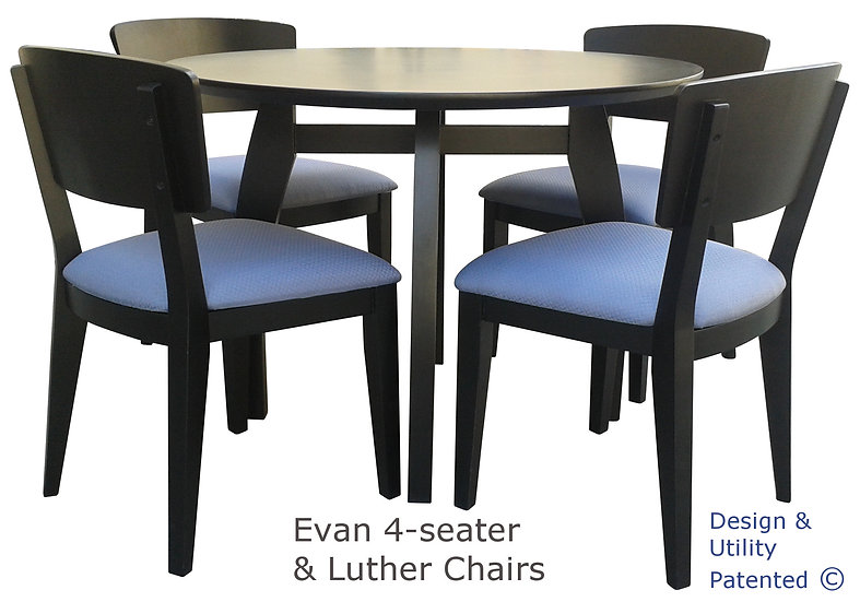 Evan Table & Luther Chair