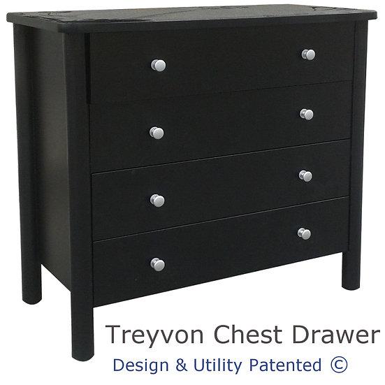 Treyvon Chest Drawer (4 Drawers)