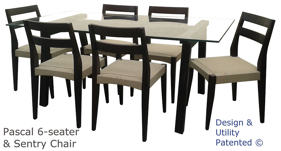 Pascal Table and Sentry Chair