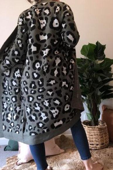 Ocelot Knit Cardy