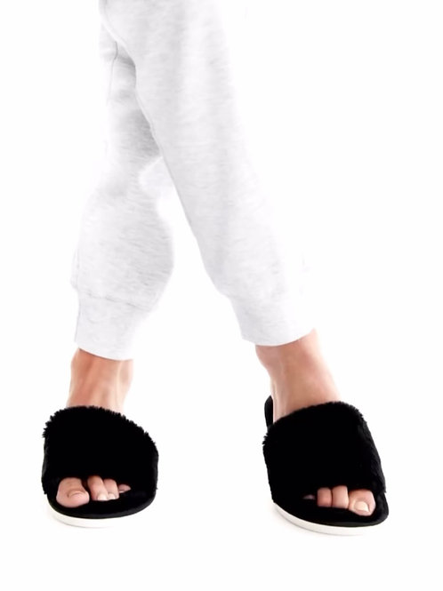 Cozy Slippers Black