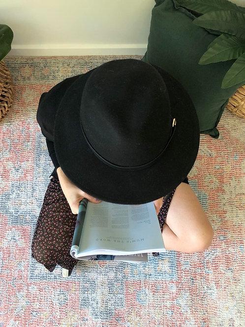 Freya Hat Black