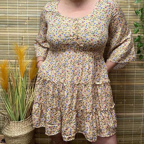 Forest Long Sleeve Dress