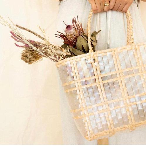 Rattan Basket Bag