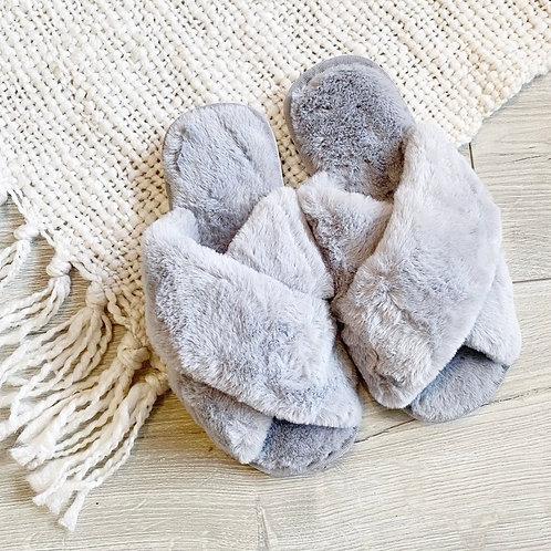 Cozy Slippers Grey