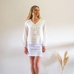 Sophia Shirt White