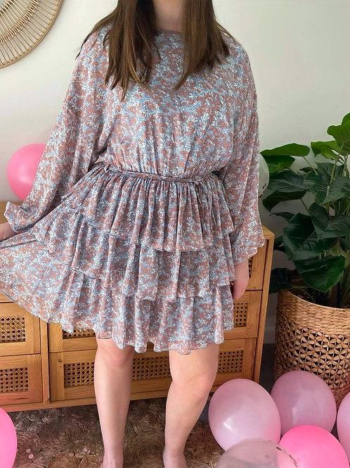 Springtime Ruffle Dress