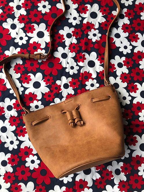 Mini  Tote Tan Bag