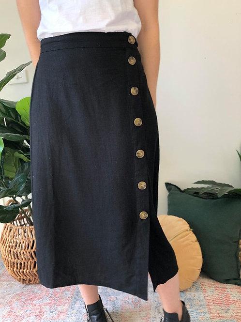 Jessica Linen Blend Skirt