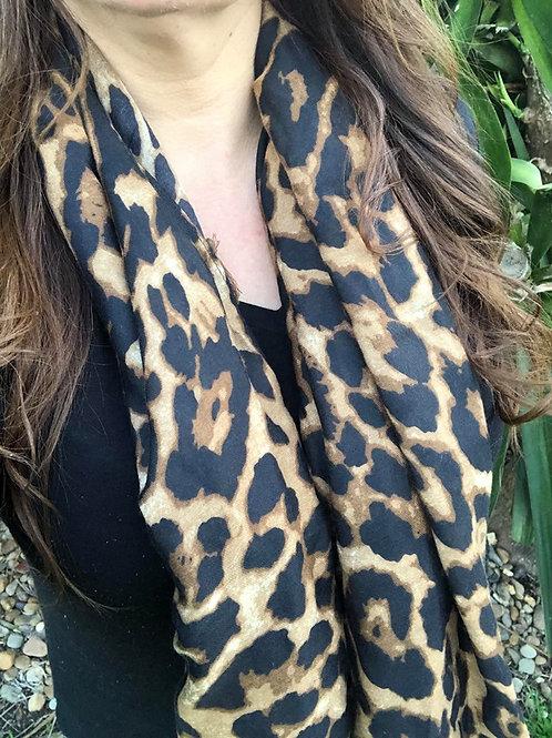 Millie Leopard Scarf