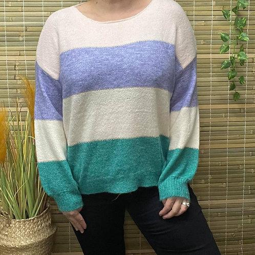 Ocean Multi Knit Wool Blend