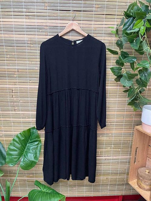 Issy Long Sleeve Maxi Black