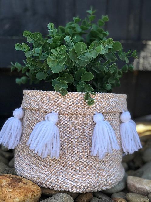 Fabric Pot holder Tassels