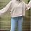 Thumbnail: Pink Crop Knit