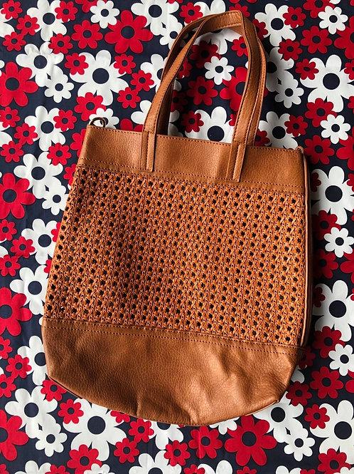 Tote Weave Bag Tan