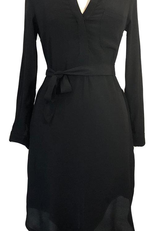 Black Midi Long Sleeve