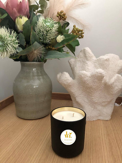 LUX Black & Gold Candle