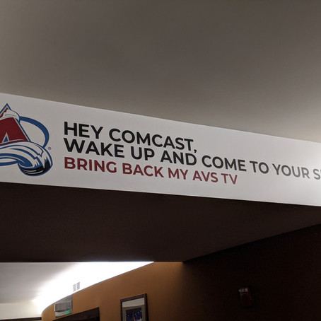 Avalanche fans still can't watch games thanks to Comcast