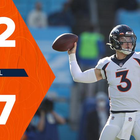 Brandon McManus sucks and Drew Lock shines in Broncos win
