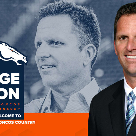 George Paton hired as Broncos GM & Elway's scapegoat