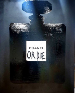 Chanel or Die BLK