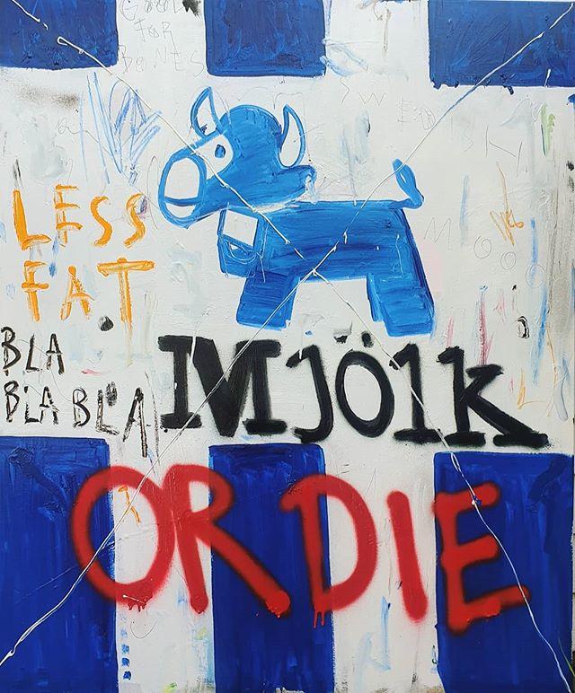 Blå mjölk (blue milk)