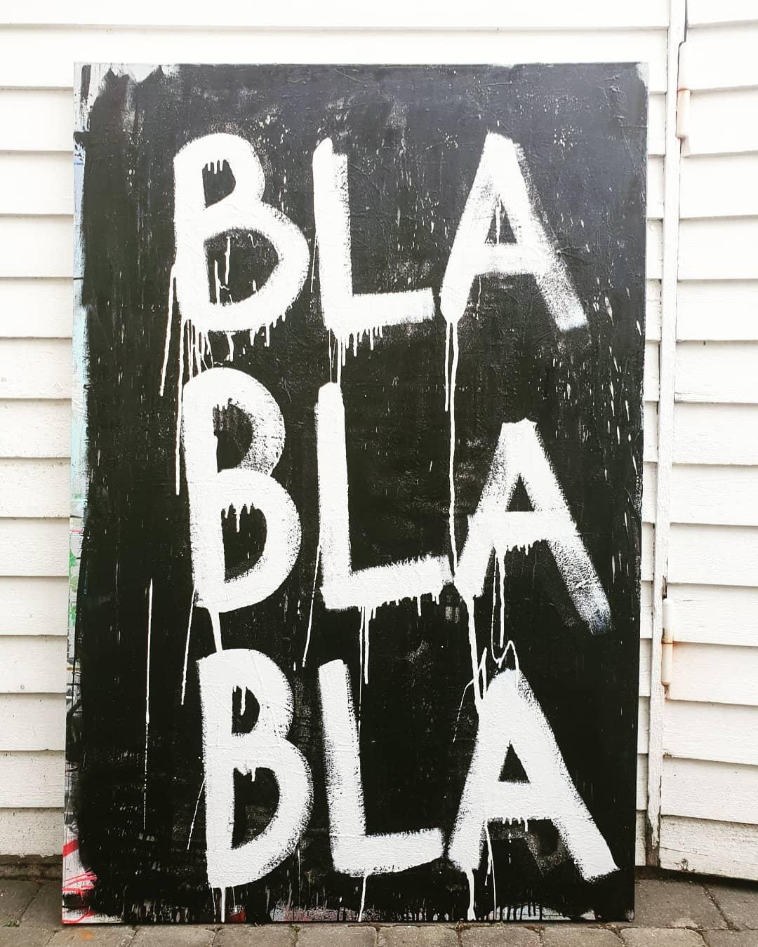 Bla bla bla Black