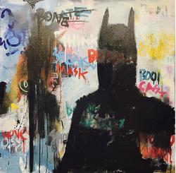 Batman from behind......