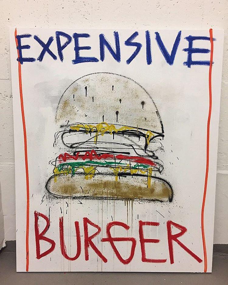 Expensive Burger