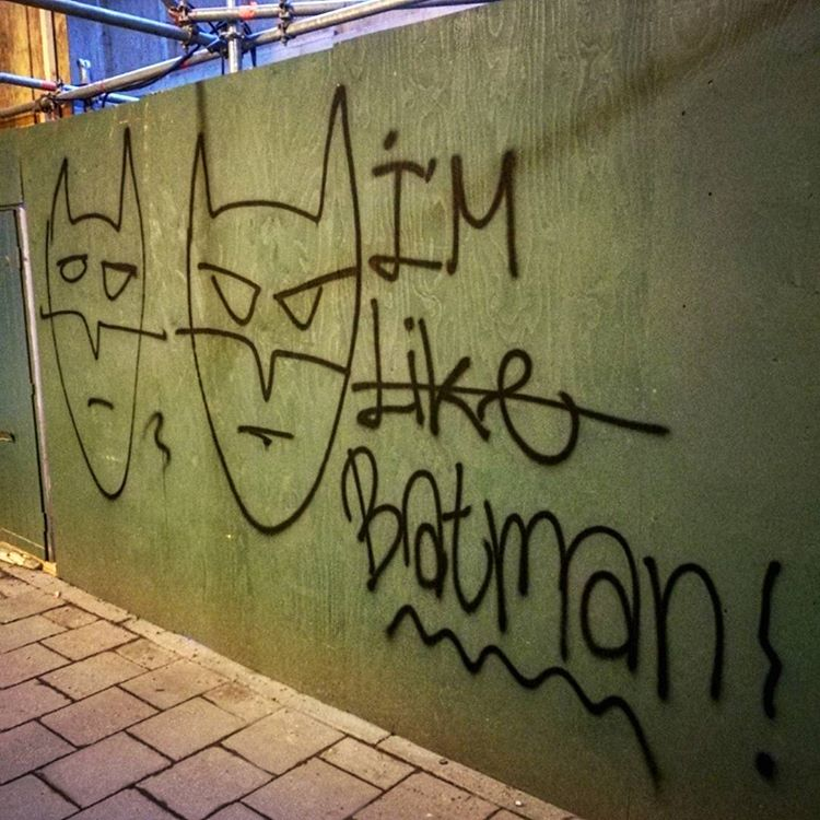 I am (Like) Batman