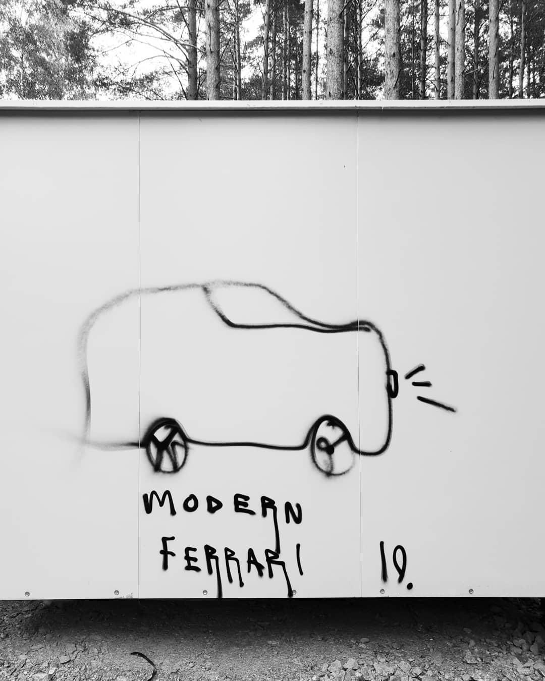 Modern Ferrari