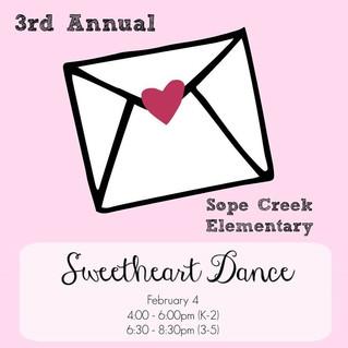 3rd Annual Sope Creek Sweetheart Dance!