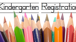 2020-2021 Kindergarten Registration
