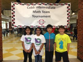 2 teachers + great students = math team success!