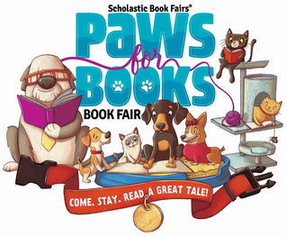 Paws for Books at the Book Fair!