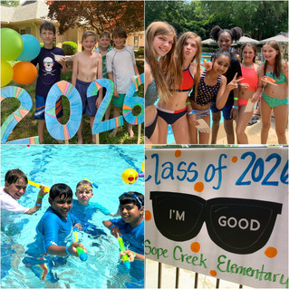 Fifth Grade Pool Party