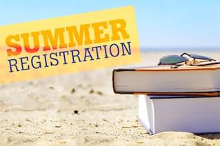 Summer Registration Dates
