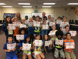 Celebrating Our Safety Patrol