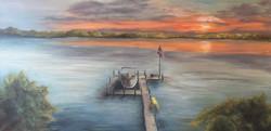 Lake Minnetonka Home View.