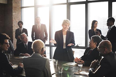 Meeting Corporate Success Brainstorming