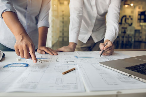 Engineers are helping to design work on