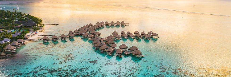 Luxury travel vacation destination panor