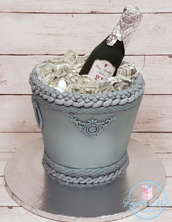 Champagne Cake.Watermark